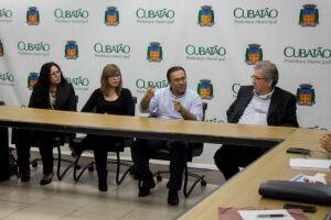 A visita in loco aconteceu nos dias 25 e 26 de outubro e teve início no gabinete do prefeito de Cubatão, Ademário Oliveira