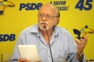 Alberto Goldman (PSBD) declarou voto em Fernando Haddad (PT)