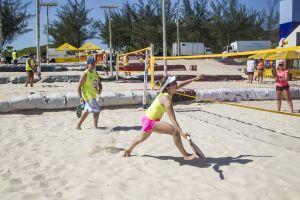 Guarujá realiza seletiva de Beach Tennis neste sábado (27)