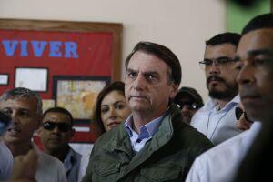 Jair Bolsonaro (PSL) deve desembarcar em Brasília na próxima terça-feira (6)
