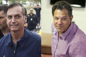 Jair Bolsonaro e Fernando Haddad fazem o segundo turno das eleições 2018
