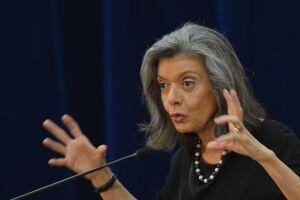 A ministra Cármen Lúcia, do Supremo Tribunal Federal (STF).