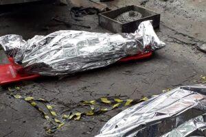 A morte de dois funcionários foi constatada pelo Serviço de Atendimento Móvel de Urgência (Samu).