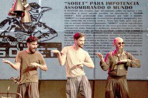 Imagem do espetáculo 'A Invenção do Nordeste'