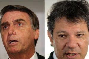 Jair Bolsonaro e Fernando Haddad disputam hoje (28) o 2º turno das eleições.