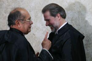 O ministro Gilmar Mendes e o presidente do STF, ministro Dias Toffoli, declararam-se contra a  realização de uma nova Assembleia Constituinte