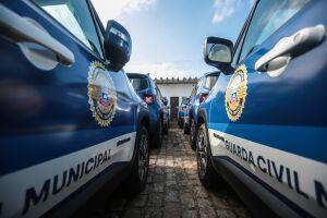 A GCM de Praia Grande montou um esquema especial de apoio à Justiça Eleitoral