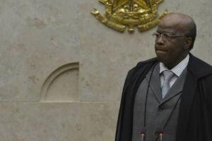 O ex-presidente do STF (Superior Tribunal Federal), Joaquim Barbosa.