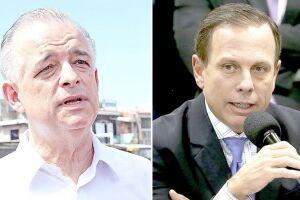 João Doria (PSDB) e Márcio França (PSB) estão tecnicamente empatados