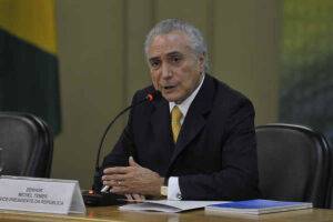 O presidente disse que a reforma da Previdência não saiu da pauta política do país, apesar de não ter sido aprovada no seu governo