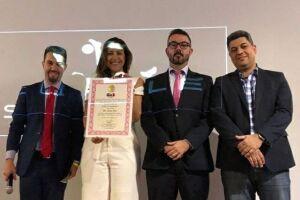 Luiz Marcondes, Raquel Lima, Rafael Cobra e Marcio Cruz (da esq para a dir) foram os responsáveis pela organização do evento