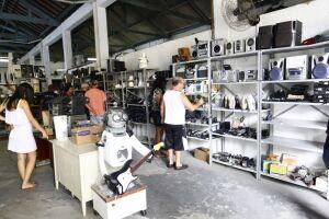O Centro de Reciclagem da Fundação Settaport é o maior ecoponto de eletroeletrônicos da Baixada