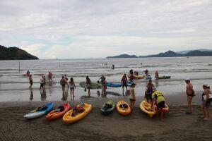 As aulas serão dadas no setor náutico, em frente ao Aquário (Ponta da Praia)