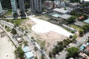 Prefeitura segue com obras de revitalização da Praça Horácio Lafer