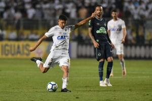 O Santos perdeu a chance de ingressar na zona de classificação para a Libertadores
