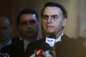 Bolsonaro também esteve com representantes da Embaixada da Alemanha