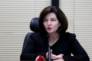 Raquel Dodge fez um discurso com vários recados ao presidente eleito