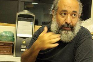 O historiador Giulius Aprigio.