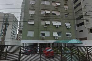 O Edifício Lucas, em Santos