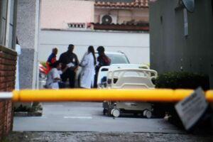 Dezoito pacientes internados no Hospital Vitória, em Santos, estão sendo transferidos