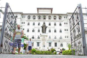 A Santa Casa de Santos vem apresentando saldo positivo em suas contas