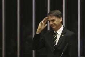 Jair Bolsonaro e seu partido, o PSL, não contrataram serviço de disseminação de suas mensagens na plataforma