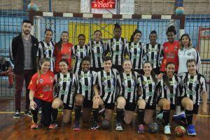 Equipe Júnior de handebol feminino do Santos/Cepe/Fupes conquistou mais uma vitória
