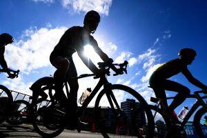 A 5ª Etapa do 12º Circuito de Sprint Triathlon Santa Cecília TV, tem largada às 8 horas