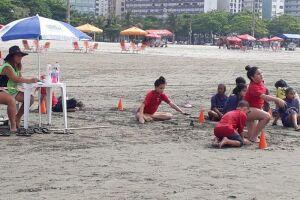 Festival de surfe reúne 120 alunos da rede municipal