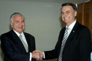 Foi o primeiro encontro entre o presidente eleito e o atual