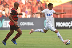 Guilherme Nunes sofreu uma trauma no tornozelo direito
