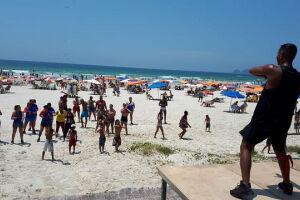 Eventos esportivos movimentam público em Guarujá