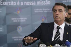 A conversa ocorre no momento em que Bolsonaro avisou que pretende transferir a Embaixada do Brasil de TelAviv para Jerusalém