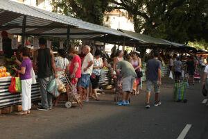 As feiras livres serão montadas nas vésperas de Natal e Réveillon