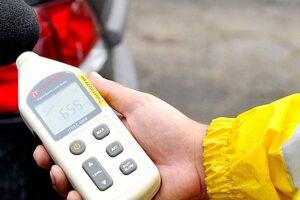 Guarda Civil Municipal (GCM) de Itanhaém  utiliza um aparelho chamado decibelímetro para a medição de barulho nas ruas.