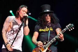 A banda Slash ft Myles Kenndy & The Conspirators anunciou oito shows no Brasil
