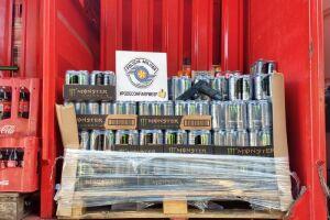 A A Polícia Militar obteve êxito em recuperar a carga, no total de 80 caixas de energético