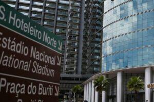 Hotéis em Brasília estão quase com as suas lotações máximas.