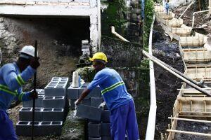 A escadaria hidráulica é apenas uma das melhorias previstas para o bairro no projeto