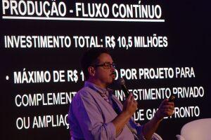 O ministro da Cultura, Sérgio Sá Leitão, durante a Comic Con Experience
