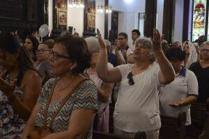 Missa foi celebrada no mesmo horário do ataque