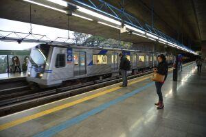 O uso do metrô e do trem como principal forma de locomoção cresceu na região metropolitana