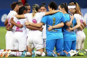 As Sereias da Vila entram em campo na disputa pela taça contra o Atlético Huila (COL)