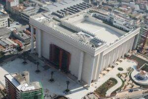 O Templo de Salomão visto de cima.