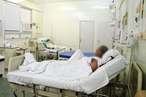 Os pacientes com queimaduras precisam ficar internados para suporte e cuidados extremos
