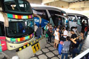 Rio de Janeiro é o destino mais buscado pelos brasileiros que viajam de ônibus no período