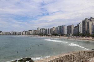 Pitangueiras é parte da região central de Guarujá