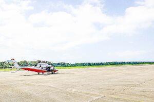 Área consolidada fica na Base Aérea de Santos e equipamentos  existentes serão reformados