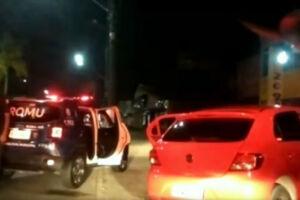 PM recuperou o carro na Avenida Presidente Kennedy, no cruzamento com Avenida Guilhermina