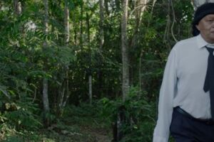 Cena do filme Ex-Pajé, de Luiz Bolognesi.